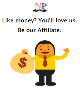 Take a small step. Be our Affiliate. Start Earning Money upon conversion.
