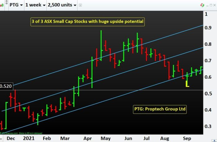 3 of 3 ASX Small Cap Stocks with huge upside potential- PTG