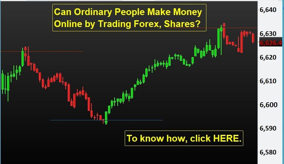 Can Ordinary People Make Money Online by Trading Forex, Shares?